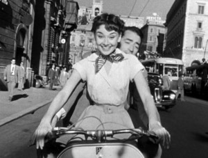 Audrey Hepburn & Gregory Peck in Roman Holiday