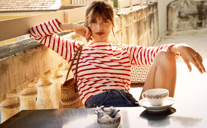 "Stripes are always ""on trend"" and tend to bring out your ""inner French-girl"""