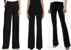 TAILORED BLACK PANTS