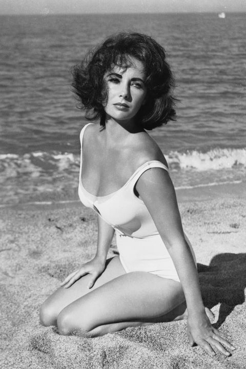 "Liz Taylor ""A Place in the Sun"""