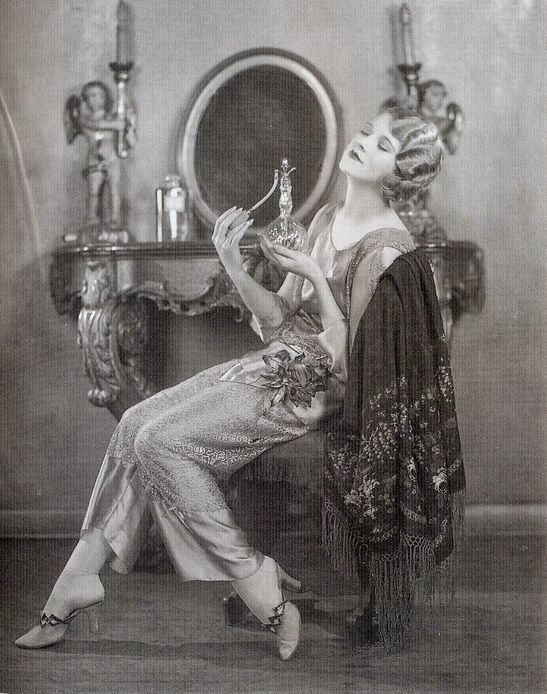 Silent film actress Thalia Barbarova, c. 1920s.