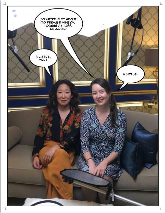 Sandra Oh & Ann Marie Fleming