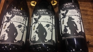 Moon Curser Wines. Love the label.