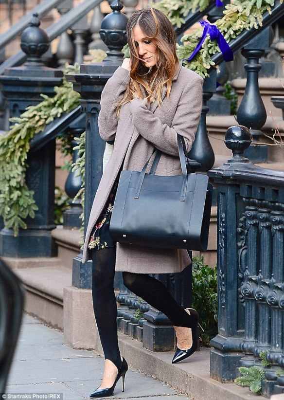 No, this is not me. It's SJP and you know if she's wearing them they're definitely in style.