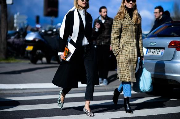 Paris Fashion Week Fall 2016 Street Style. Photo by Adam Katz Sinding.