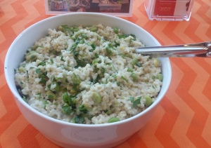 Coconut Ginger Risotto