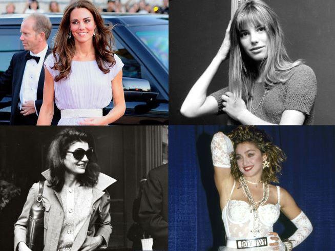 Kate Middleton, Sienna Miller, Jackie O & Madonna - individualism.