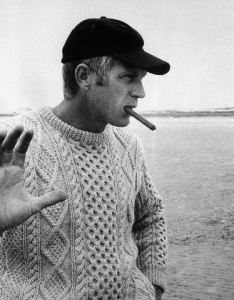 May 1968 - actor Steve McQueen. Image by © Bettmann/CORBIS