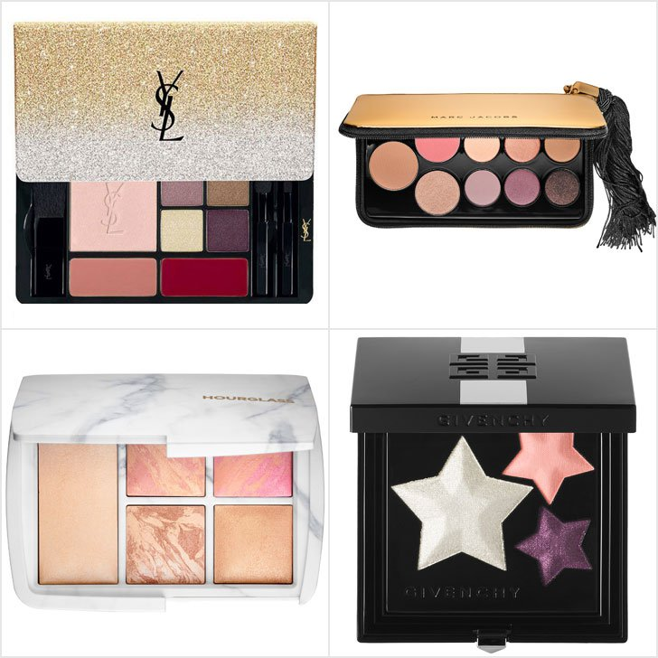 Yves Saint Laurent (top L) Marc Jacobs (top R), Hourglass (bottom L) & Givenchy (bottom R).