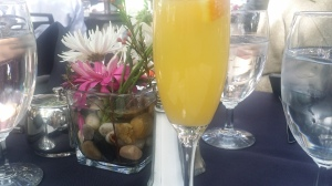 Mimosa at Spencer's before brunch