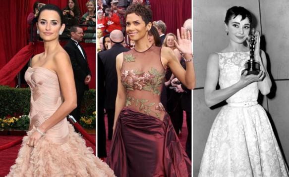 Past Winners: Penelope Cruz, Halle Berry & Audrey Hepburn.